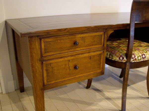 Writing Desk - French Oak - Various Stains in French Polish Finishe Available