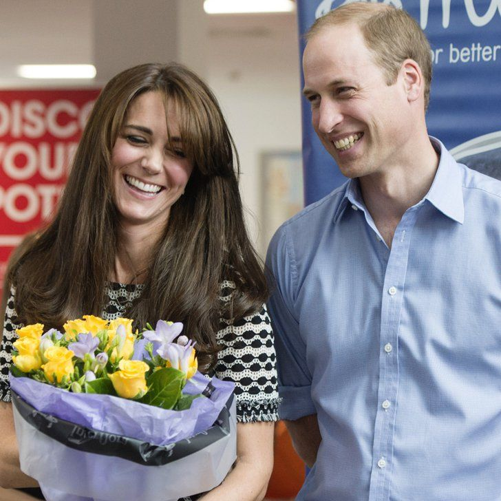 "Pin for Later: Prince William Says Prince George and Princess Charlotte Are ""Delightful"""