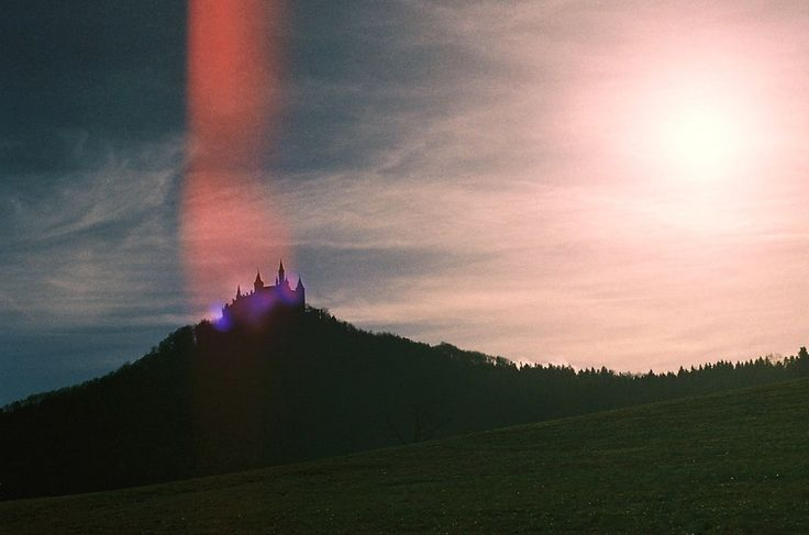 """""""I want to make beautiful things, even if nobody cares.""""  ― Saul Bass - Hohenzollern Castle, Germany. Kodak Ultra 400UC Leica R4"""