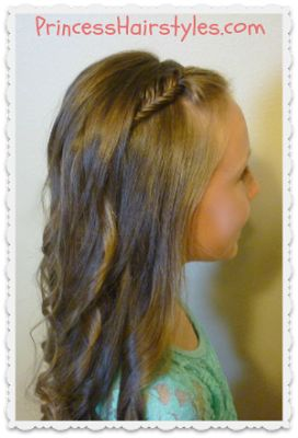 Great site for tons of hairstyles for your little princess!!!! I can't wait to try a lot of these styles on my girls!