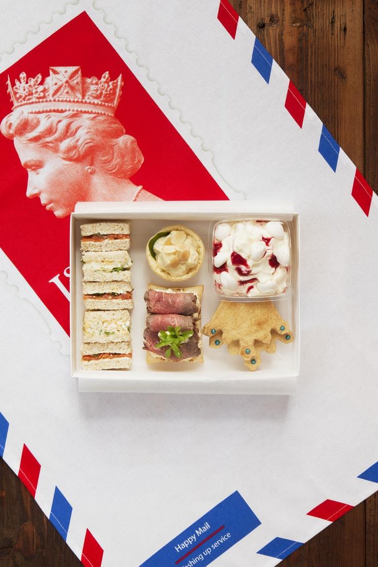 British lunch box celebrating London Olympics