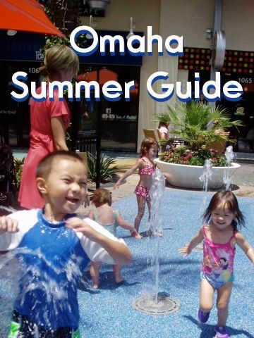 Spraygrounds, swimming pools, dog parks, and other fun summer places in and around Omaha, Nebraska!