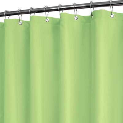 Park B. Smith® Dorset Solid Aloe 72-Inch x 72-Inch Watershed® Shower Curtain - BedBathandBeyond.com