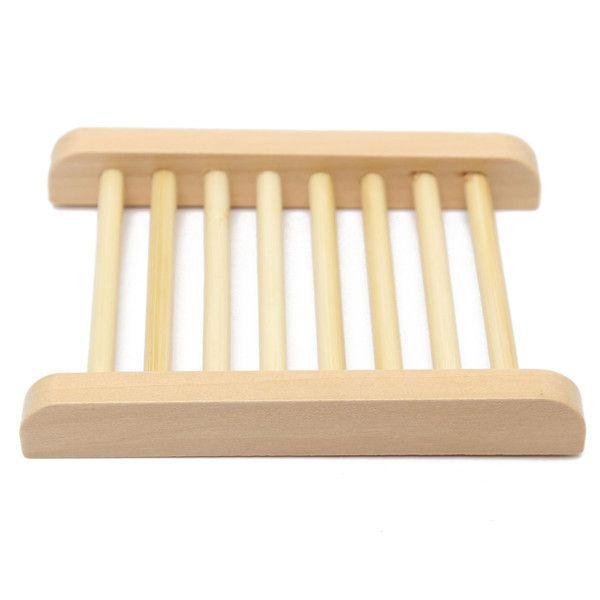 Handmade Natural soap box di legno fatto a mano in lana titolare scatola di sapone soap box cremagliera