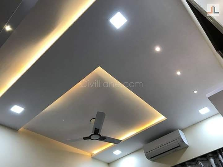 7 Fun Clever Ideas Interior Painting Greige Interior Painting Palette Living Rooms Interior Bedroom False Ceiling Design Ceiling Design Ceiling Design Modern Bedroom light new ceiling design