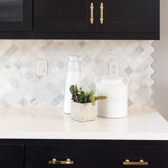 kitchen backsplash tile how to pick the perfect pattern for your home dark cabinets - Kitchen Backsplash Ideas With Dark Cabinets