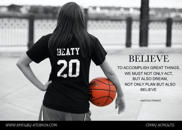 love and basketball...id like to do some of these next season