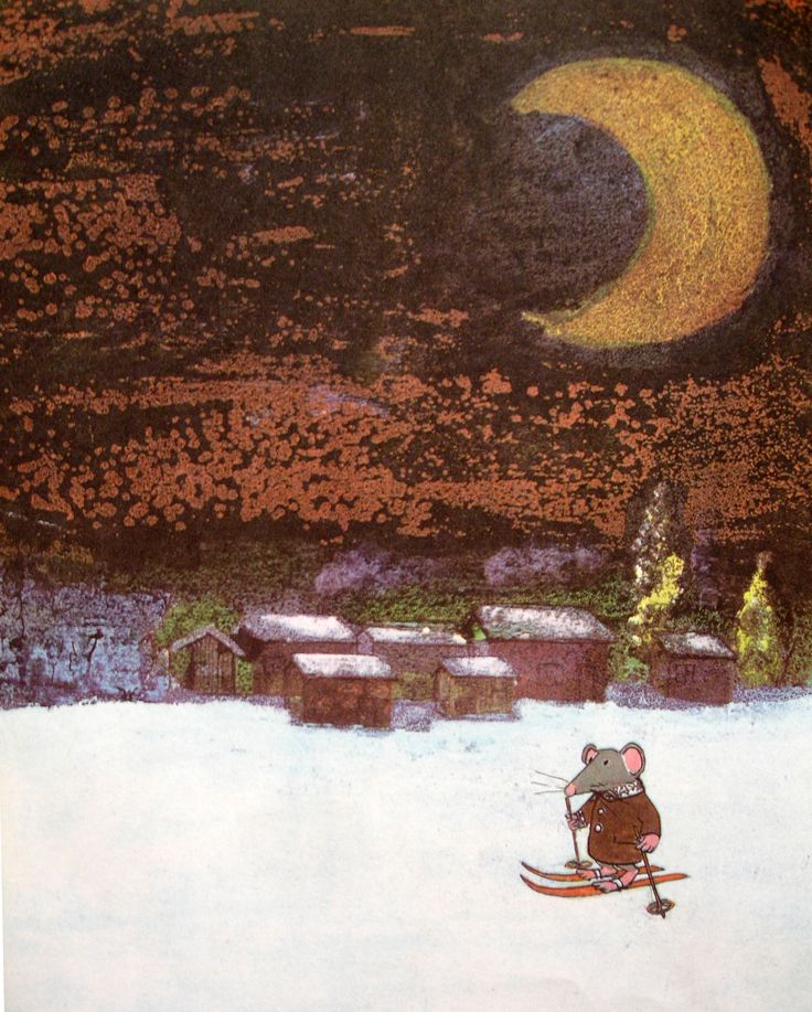 Trubloff The Mouse who wanted to play the Balalaika, written & illustrated by John Burningham.
