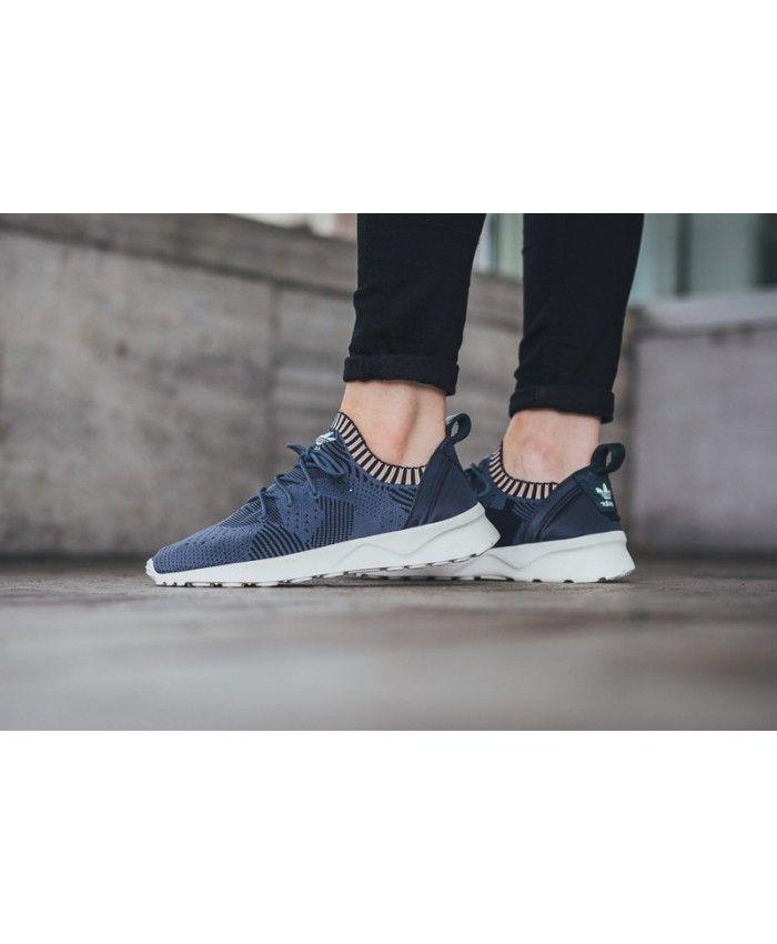 697a65ffa Adidas Zx Flux Adv Verve Primeknit Navy Womens Shoes