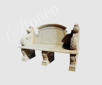 Sardes - ławka kamienna