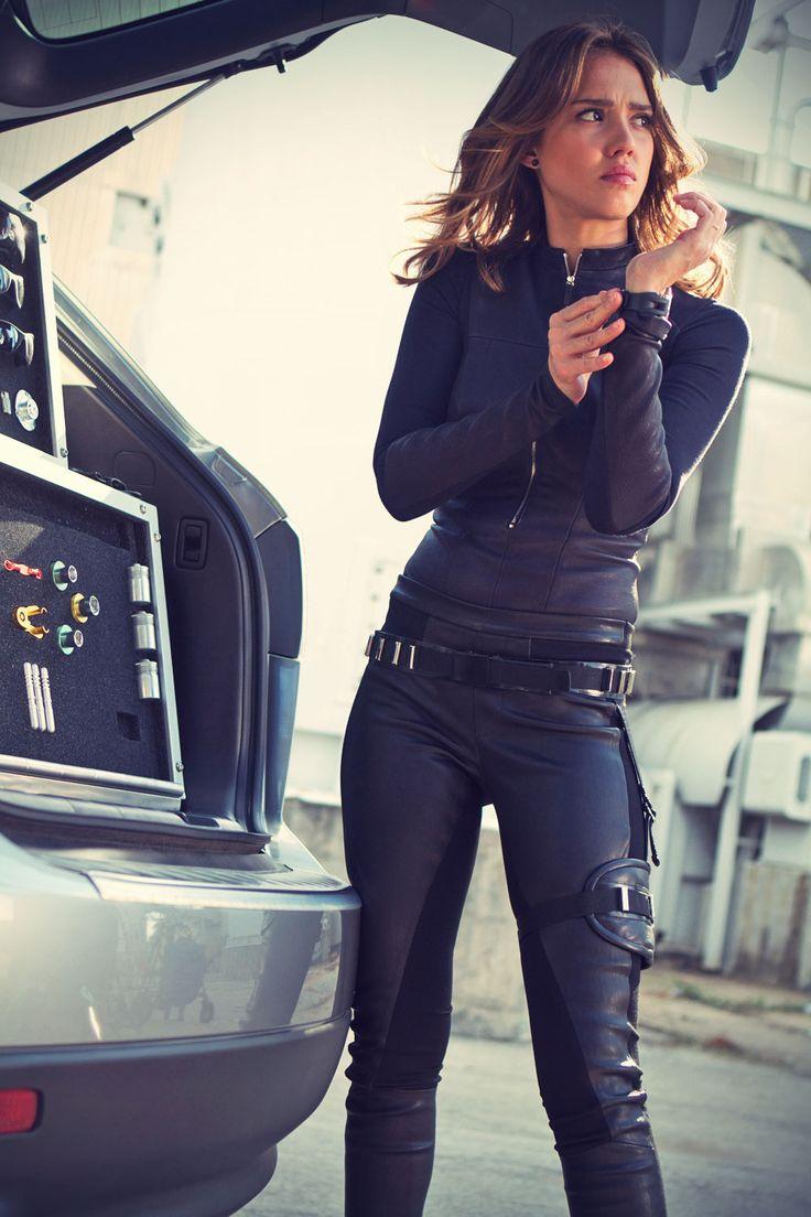 Jessica Alba Spy Kids 4 Promo