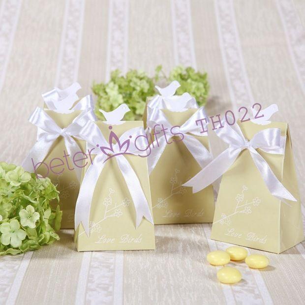 Olive green Love Birds Candy Box BETER-TH022 Hotel Decoration and door Gift, event Souvenir    #weddingfavorbox #candybox #weddinginspirations