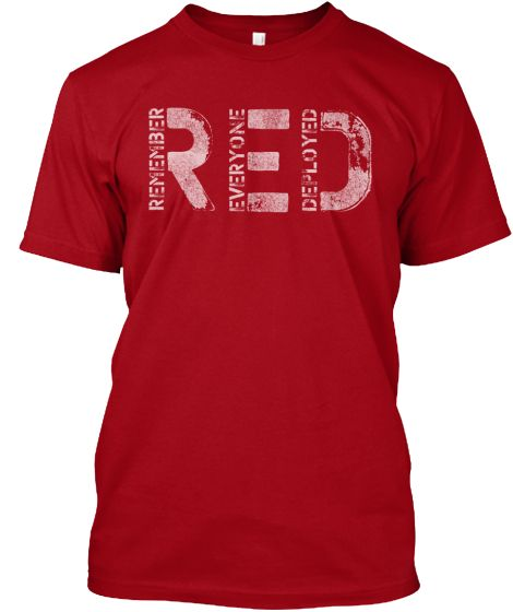 Red Friday Shirts | Teespring