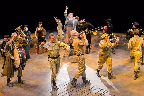 """""""Mother Courage (and her Children),"""" with Kathleen Turner, Arena Stage, Washington, D.C., February 20, 2014"""