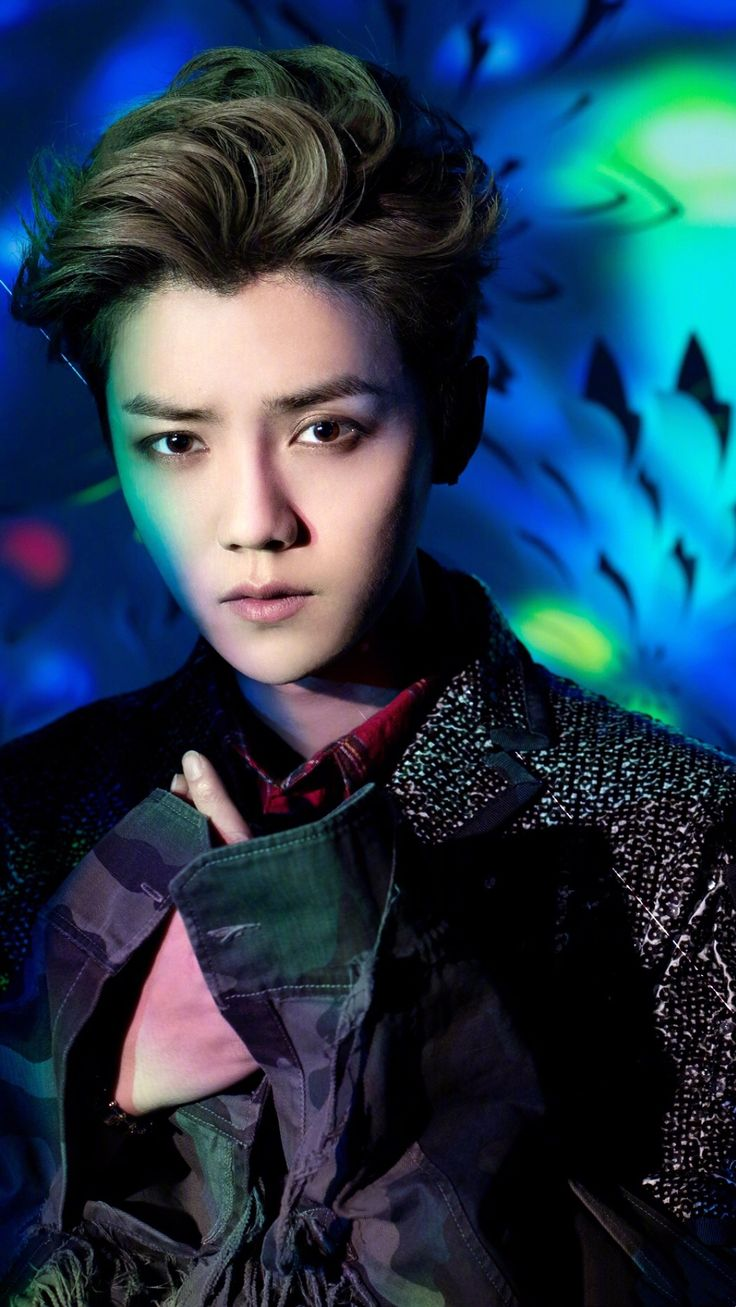 "Luhan 鹿晗 publicity photo of album ""Imagination"""