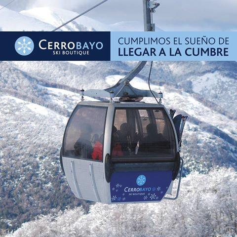 Cumbre Cerro Bayo 1805 msm