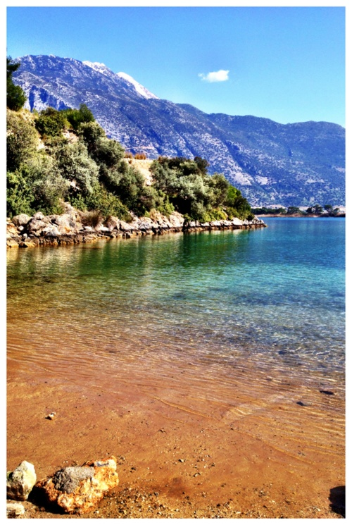 Oludeniz, blue lagoon, Turkey