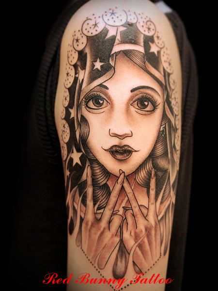 78 images about virgin mary tattoos on pinterest chris carter galleries and side tattoos. Black Bedroom Furniture Sets. Home Design Ideas