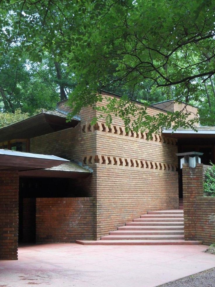 17 best f l w william and mary palmer house images on for Palmer house ann arbor