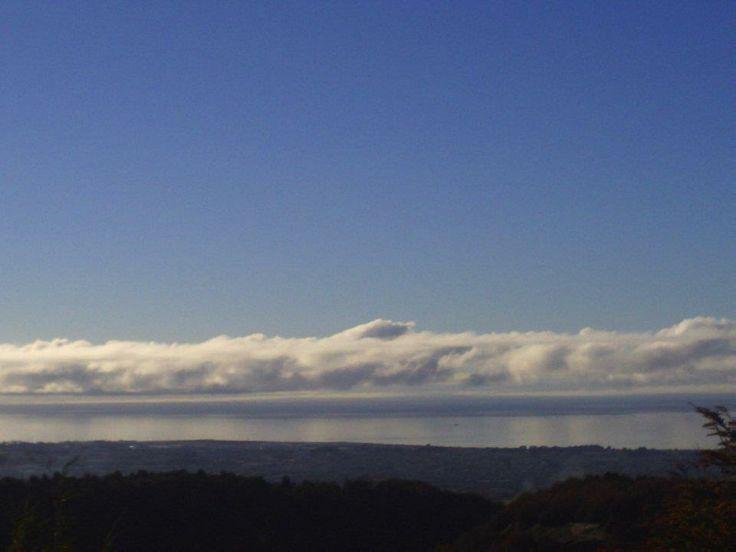 Estrecho de Magallanes visto desde la reserva Magallanes