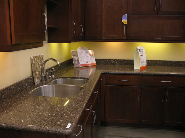 Sierra Madre Countertop From Home Depot Showroom. My Husband Likes This  Better Than Mahogany Silestone · Remodeling IdeasHome DepotKitchen ...
