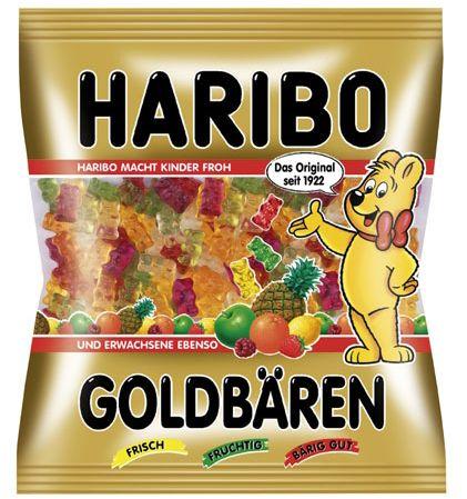 Haribo Goldbären 200g Le plus connu et le plus célèbre de tous les bonbons Haribo !