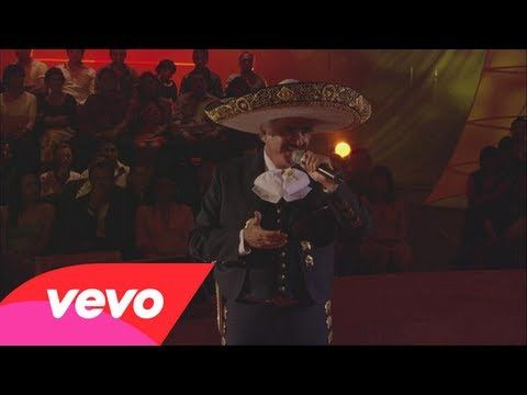 Vicente Fernández - Caminemos (En Vivo) - YouTube