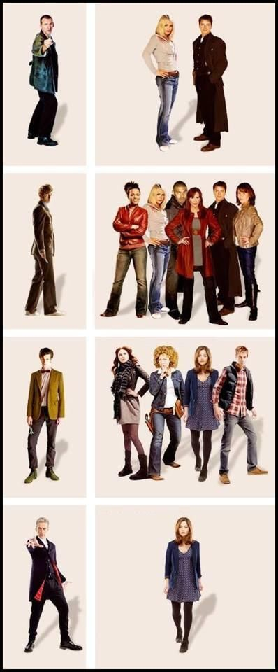 The Doctor and his companions (NuWho)