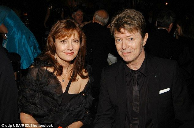 Former couple: Susan is shown with David Bowie in September 2006 in New York City...