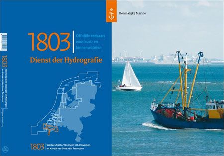 Hydrografische kaart 1803: Westerschelde