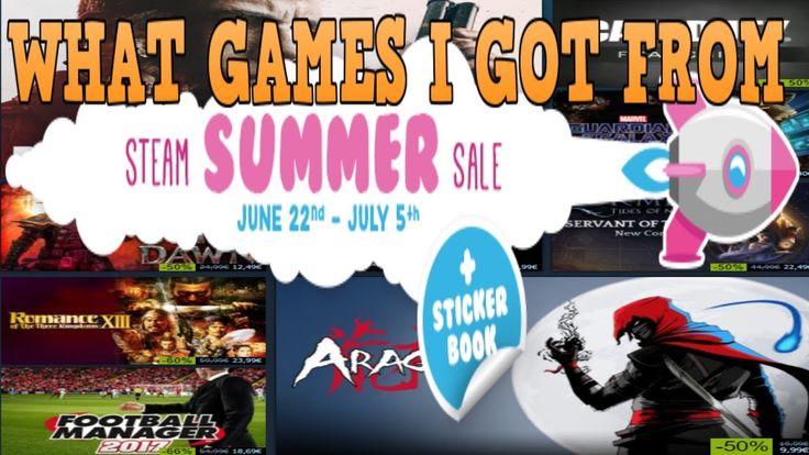 Steam Summer sale 2017 päivä 2 ja tuliko hankittua pelejä