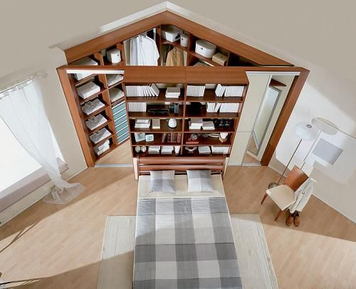 Great idea for a bedroom without a closet or with only a tiny closet.