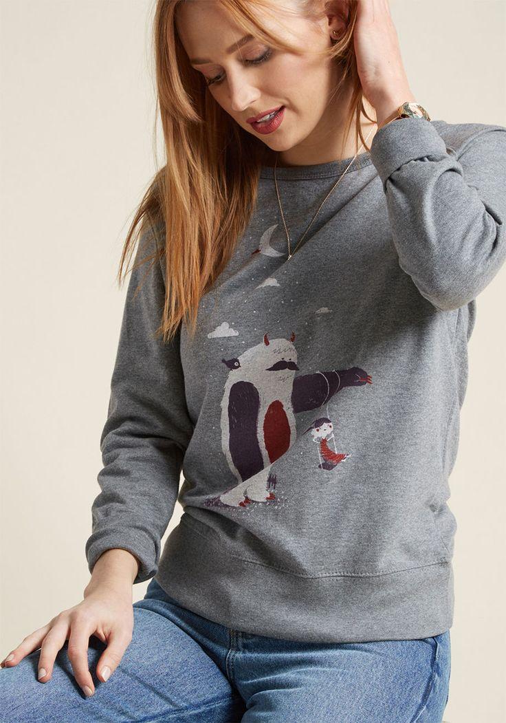 Hairy Helper Sweatshirt | ModCloth