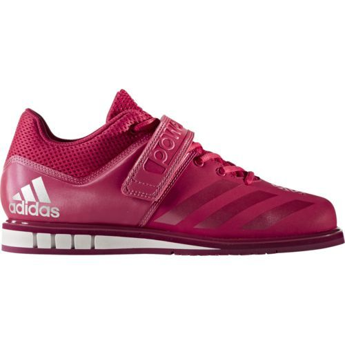 Adidas Women's Powerlift.3.1 Weight Lifting Shoes (Pink Dark, Size 6) - Women's Training Shoes at Academy Sports
