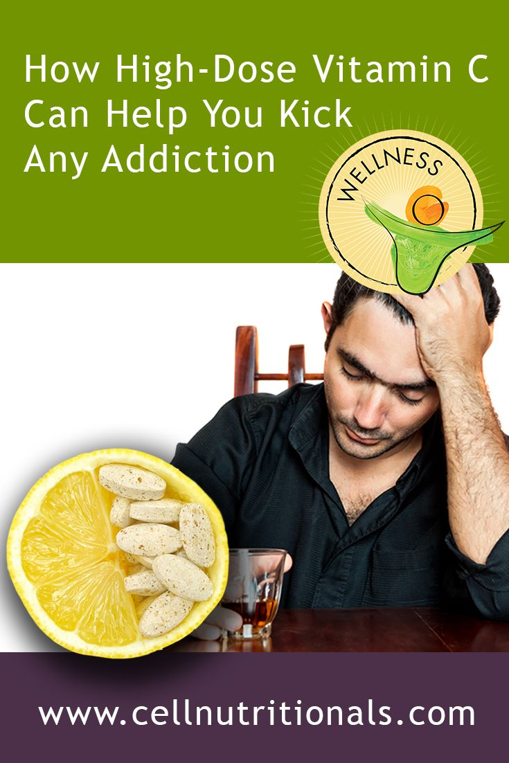 Studies have shown that vitamin C can help drastically reduce withdrawal…