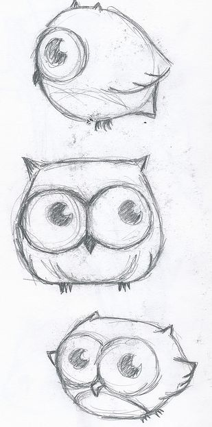 Cute and easy owls