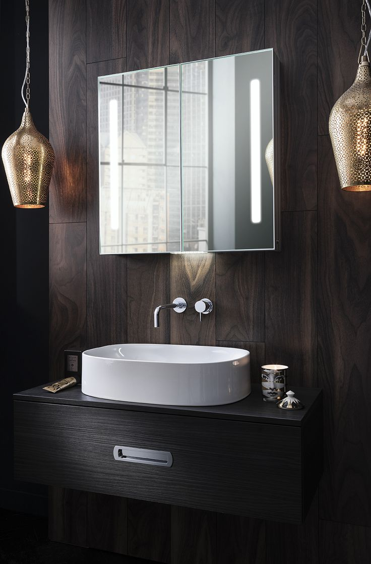 Quality bathroom furniture uk - Combining Superior Quality Materials With The Latest Manufacturing Techniques Brighten Up Bathrooms With The Allure 700 Mirrored Cabinet From Bauhaus