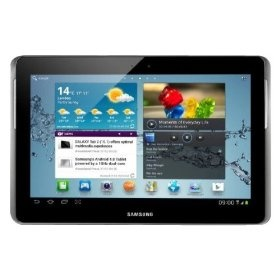Samsung Galaxy Tab 2 (10.1-Inch, Wi-Fi)    Android 4.0 (Ice Cream Sandwich) OS  10.1-inch Multitouch 720p HD Screen (1280 x 800)  16GB Internal Memory; microSD expansion up to 32GB  Wireless N Wi-Fi (802.11b/g/n); Bluetooth 3.0,GPS Enabled with Latitude, Google Maps  1GHz Dual-Core Processor; 1GB RAM