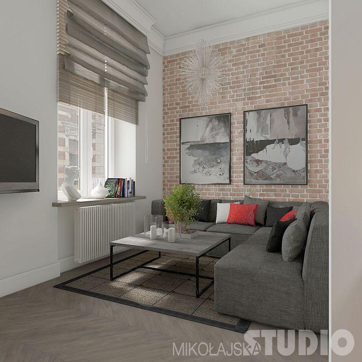 Studenckie mieszkanie w kamienicy – MIKOŁAJSKAstudio Krystyna Mikołajska