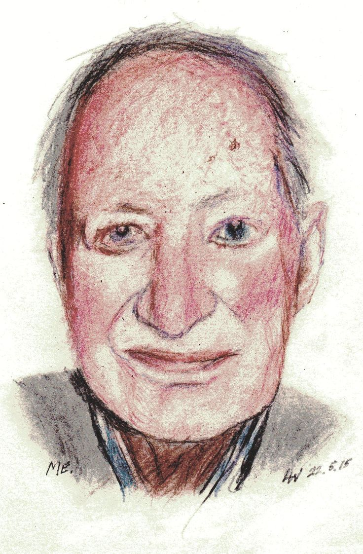 This is my first try. What better than a self portrait! Ugly as it is, but it looks like me. Looks like one of those miserable so and so's you see in Nursing homes.