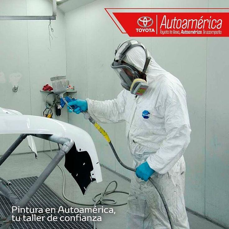 La mano de pintura que quieres para tu #Toyota es mejor en tu taller #AutoaméricaPalacé, en donde encuentras toda la confiabilidad y el respaldo de un equipo calificado. Pide tu cita online https://goo.gl/wuzb4l  ¡Te esperamos!