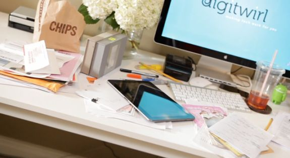 17 best images about organizing paper clutter on pinterest for Best way to get rid of clutter
