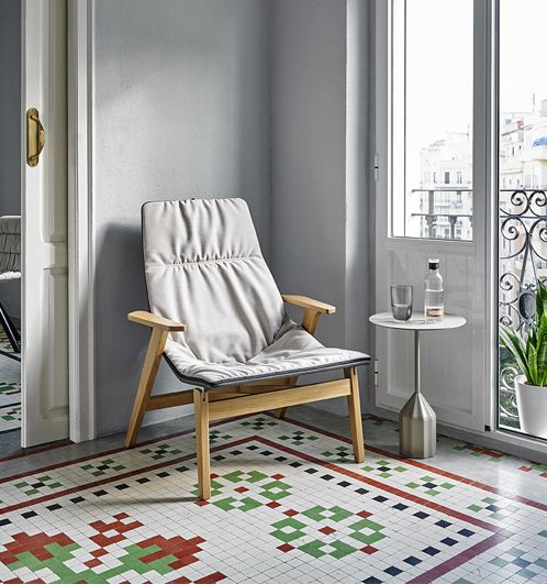 Ace Wood Armchair By Viccarbe
