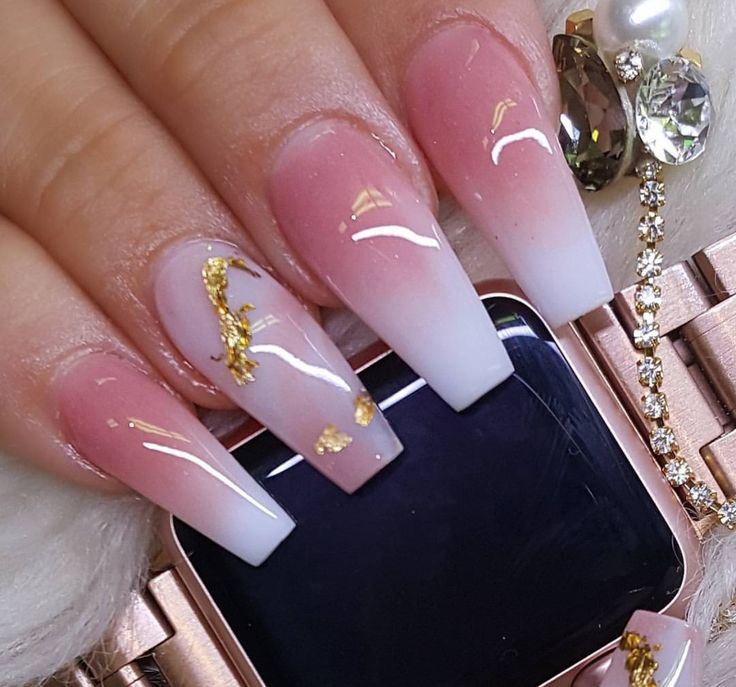 Ombré Nails . . . . If You're Viewing This follow Us ➡️Hair,Nails,And Style ➡️Hair,Nails,And Style . . This Is Our Official Page ! We Will Have More Boards && Pictures Coming Soon ✨✨ Until Then continue Following / Supporting Us Thanks You All #Welit http://hubz.info/nail-arts
