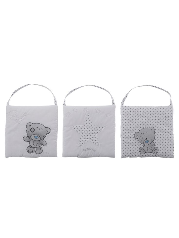 Tiny Tatty Teddy Wall Hangings (3-piece set) | woolworths.co.uk