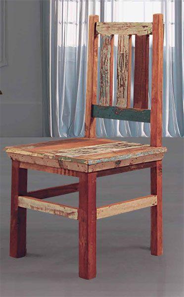 Silla Rustica Colores Desgastados Abarna http://www.artesaniadecoracion.com/tienda/Silla-Rustica-Colores-Desgastados-Abarna.html
