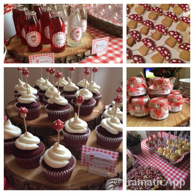 Little Red Riding Hood first Birthday Party