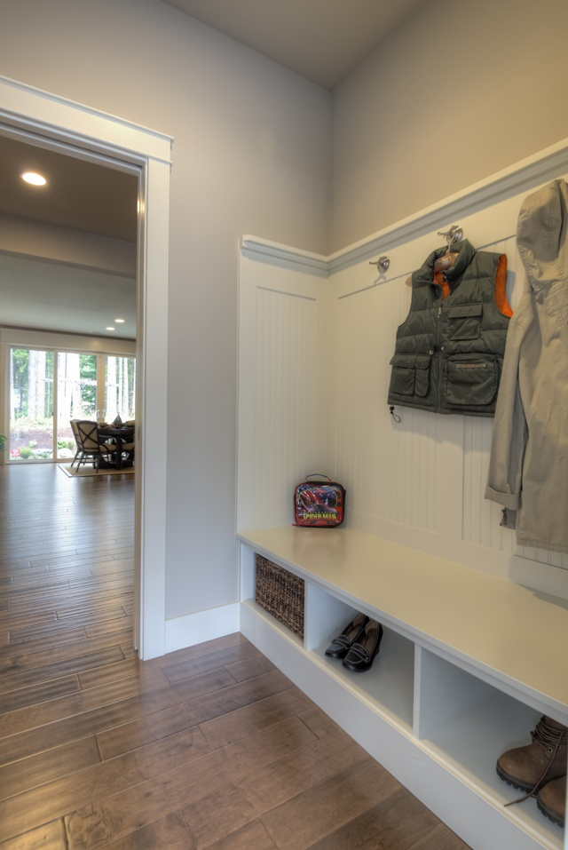 17 best entry ways foyers and mud rooms images on for Basement mudroom ideas