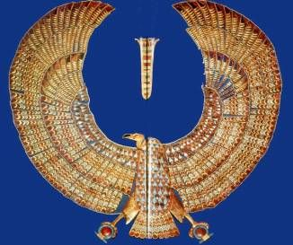 Egyptian Jewelry by the by thats 24 K gold.. as was all gold from Egypt not 10, not 18, 24K!