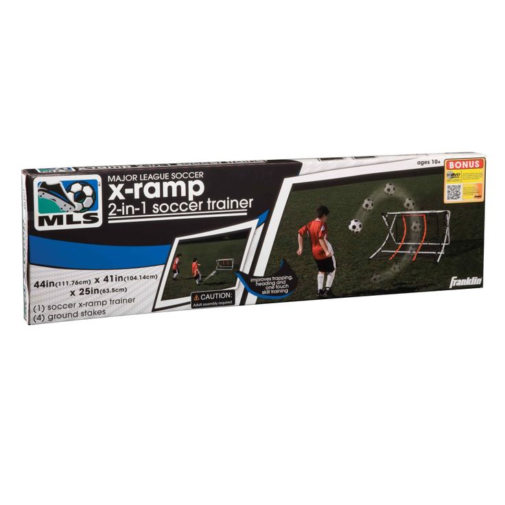 Awesome Franklin Sports XRamp in Soccer Trainer Silver